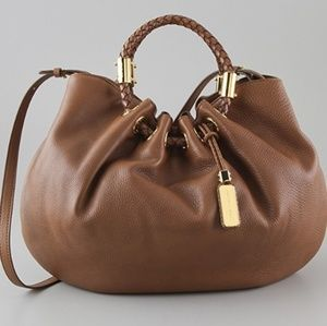 MICHAL KORS HOBO BAG GOLD MADE IN ITALY